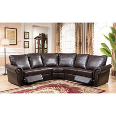 Tiffany Reclining 3-Piece Sectional Sofa