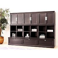 Belmont 9- Pc. Modular Wall Storage Unit