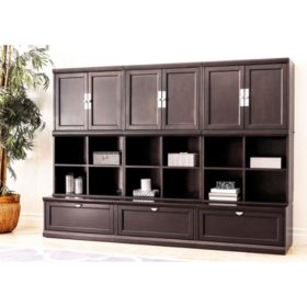Belmont 9-Piece Modular Wall Storage Unit