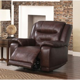 Prime Chandler Top Grain Leather Power Recliner With Usb Port Spiritservingveterans Wood Chair Design Ideas Spiritservingveteransorg