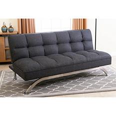 Belize Gray Click Clack Futon Sofa Bed