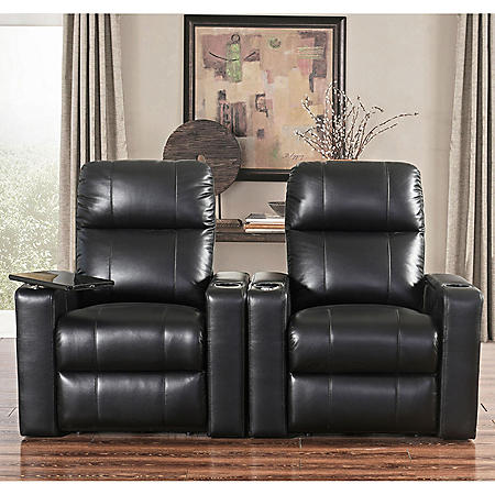 TRAVIS THEATER 2PC HOME THEATER SEATING