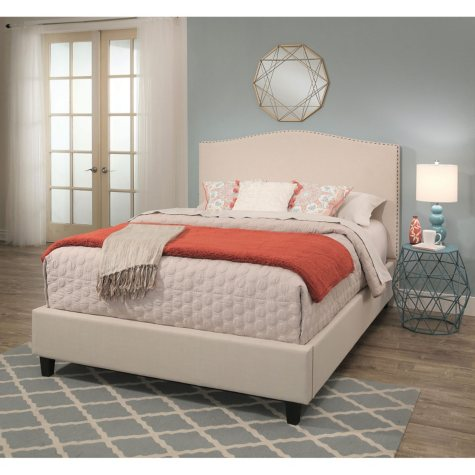 Magnolia Upholstery Platform Bed (Assorted Sizes)