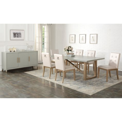 Zen Gray Dining Set (Assorted Sizes)