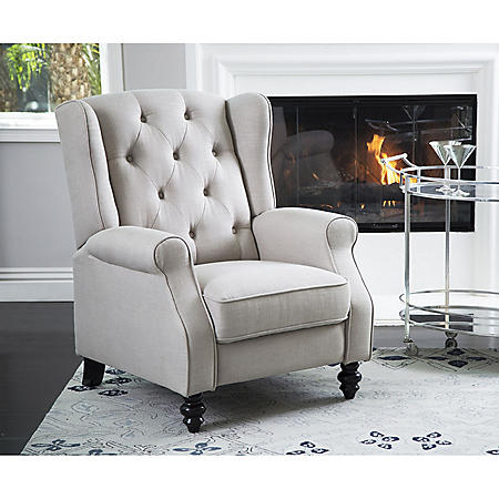 Member's Mark Sydney Pushback Fabric Recliner, Various Colors