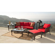 Hampton 5-Piece Outdoor Wicker Set