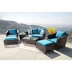 Ibiza 7-Piece Outdoor Wicker Set