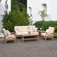 Catalina Teak 5-Piece Sofa Set (Assorted Colors)