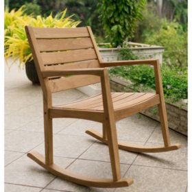 Fabulous Madison Teak Rocking Chair Sams Club Ibusinesslaw Wood Chair Design Ideas Ibusinesslaworg