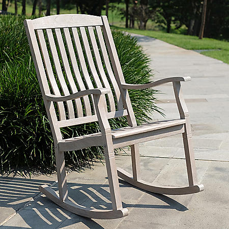 Weston Teak Porch Rocker