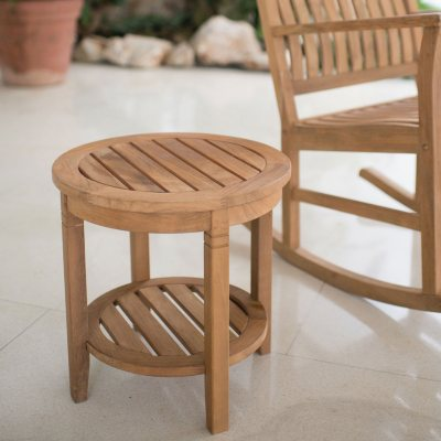 Weston Teak Side Table & Teak Patio Furniture For Sale Near You - Hardwood - Samu0027s Club