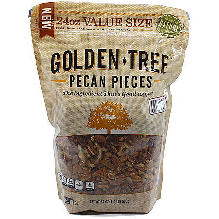 Golden Tree Fancy Pecan Pieces (24 oz.)