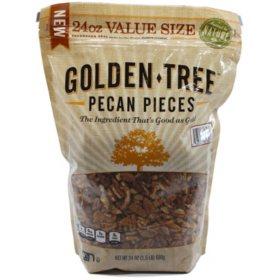 Golden Tree Fancy Pecan Pieces (24 oz.)