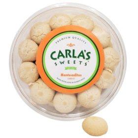 Carla's Sweets Mantecaditos Sandies (35oz)