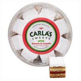Carla's Sweets Panetela with Guava Cake (22oz)