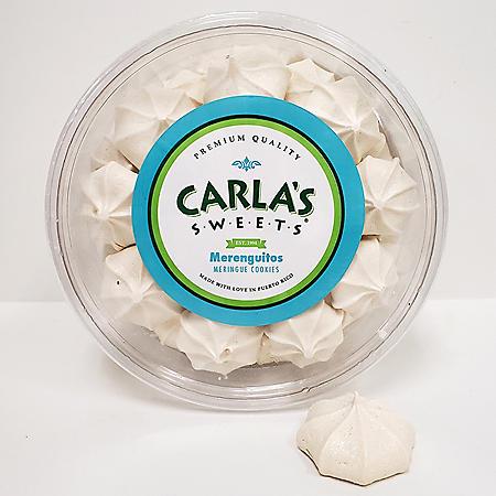 Carla's Sweets Merenguitos Meringue Cookies (7oz)