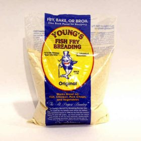 Young's Fish Fry Breading - 5 lbs.