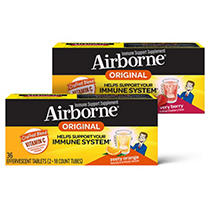 Airborne Effervescent Tablets, Various (Orange) (36 ct.)