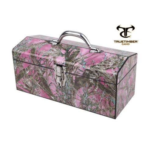 """Mc2 Pink 16"""" Toolbox"""