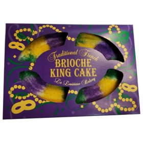 Traditional French Brioche King Cake (32 oz.)