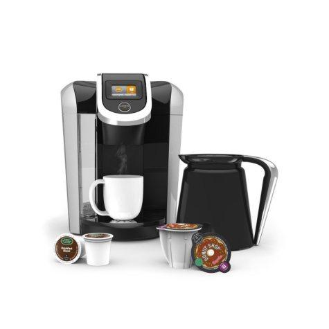 Keurig 2.0 K460 Brewing System with 42 K-Cup Packs & 4 K-Carafe Packs