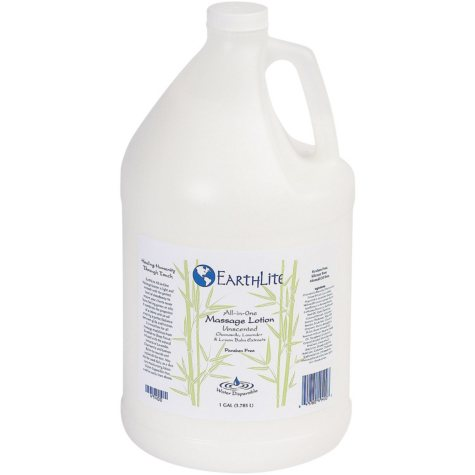 EarthLite All-in-One Unscented Massage Lotion - 1 Gallon