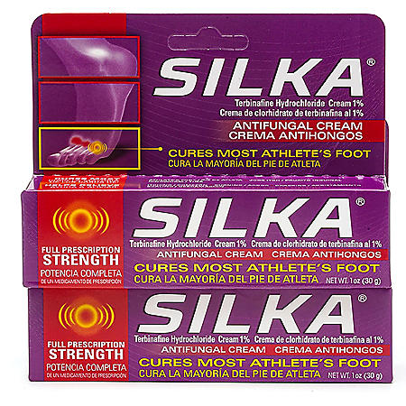 SILKA Anti-Fungal Cream, Clinical Anti-Fungus Foot Treatment