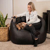 Big Joe Large Vibe Massage Chair with Cupholder