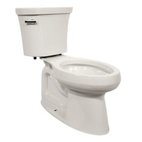 Awesome Kohler Highline 2 Piece Elongated Toilet White Sams Club Bralicious Painted Fabric Chair Ideas Braliciousco
