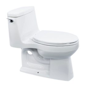 Prime Kohler Santa Rosa 1 Piece Elongated Toilet White Sams Club Bralicious Painted Fabric Chair Ideas Braliciousco