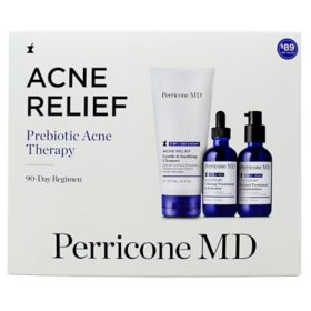 Perricone MD Acne Relief Prebiotic Acne Therapy 90 Day Kit