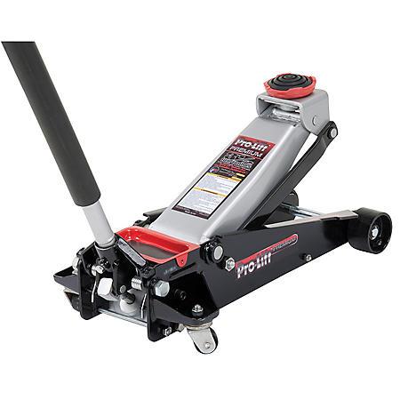 Pro-Lift Speedy Lift Garage Jack - 3-1/2 Ton Capacity (Grey)