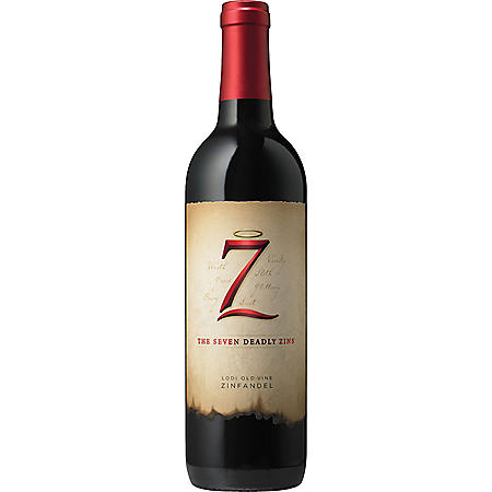 The Seven Deadly Zins Zinfandel Red Wine (750 ml)