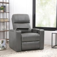 Deals on Travis Power-Recline Home Theater Seating