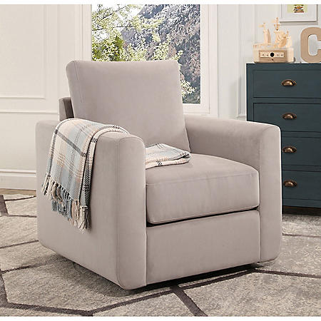 Super Aurora Fabric Swivel Chair Assorted Colors Sams Club Theyellowbook Wood Chair Design Ideas Theyellowbookinfo