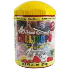 Original Gourmet Lollipop Tub (54.7oz)