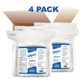 Wipex Gym Wipes Refill Pack for Hand & Surfaces (800 each, 4 pk.)