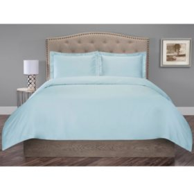Organic Cotton 300-Thread-Count Duvet Set
