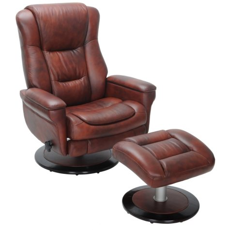 Thomasville Special Additions Recliner and Ottoman