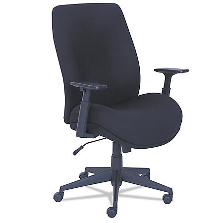 La-Z-Boy Baldwyn Series Mid Back Task Chair, Black