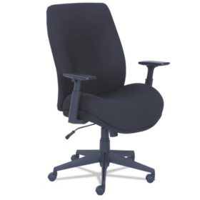 La-Z-Boy Baldwyn Series Mid Back Task Chair, Black