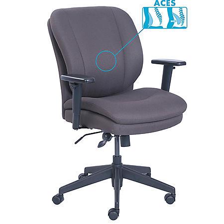 SertaPedic Cosset Ergonomic Task Chair, Choose a Color