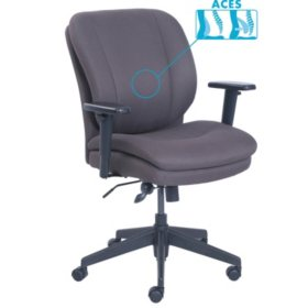 SertaPedic Cosset Ergonomic Task Chair, Choose a Color