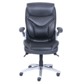 Super Wellness By Design Bonded Leather 3D Chair Black Sams Club Cjindustries Chair Design For Home Cjindustriesco