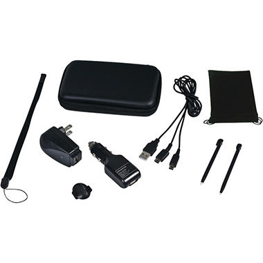CTA Nintendo DSi / DS 9-in-1 Travel Kit - Various Colors