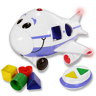 Jumbo the Jet Electronic Shape Sorter