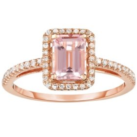 b5e0ad432 T.W. Diamond Ring in 14K Rose Gold
