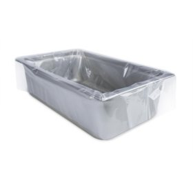 """PanSaver® Ovenable Pan Liners for Half Size Pan - Medium and Deep (4"""" to 6"""") Depth"""