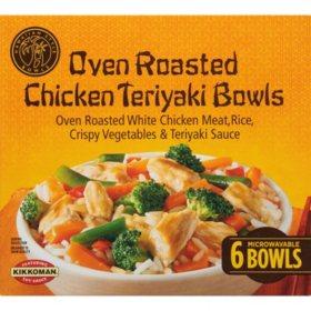 Hawaiian Style Oven Roasted Chicken Teriyaki Bowls, Frozen (6 bowls)