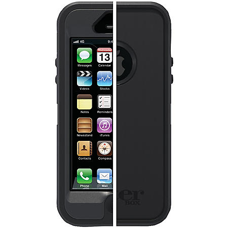 OtterBox Defender Series Case for iPhone 5/5S - Black